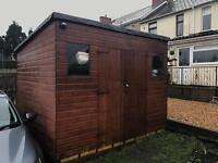10ft x 10ft garden shed