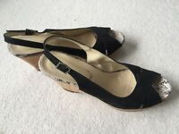 Women's size 7 wedge shoes