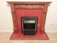 Wooden Fireplace For Sale