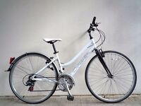 "(1016) 700c 17"" Lightweight Aluminium ORBEA ADULT HYBRID BIKE BICYCLE; Height: 165-185cm (5'5""-6'1"")"