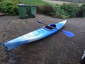 Canoe for sale complete with paddle and Lifejacket----NOW SOLD