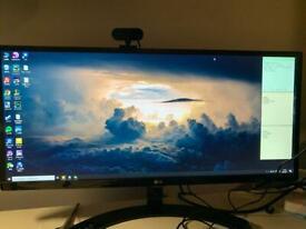 """LG 29UM68-P 29"""" FHD 21:9 UltraWide IPS LED Monitor"""