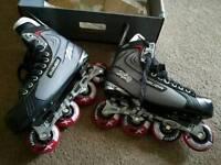 Bauer XR1 roller skates