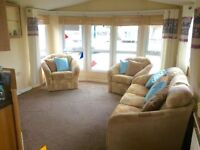 Static caravan for sale at Seawick & St Osyth Beach Holiday Park - cheap running not
