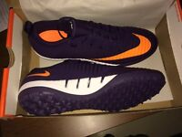UK Size 9 Nike Mercurial Finale TF Floodlight Purple Dynasty / Birght Citrus Football Boots