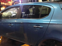 Vauxhall Corsa E 1.4 5 DOOR BLUE 2017 Vehicle Breaking For PARTS