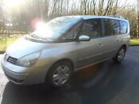 2006 RENAULT GRAND ESPACE 2.2 DCI DYNAMIQUE 7 SEATER AUTOMATIC FULL MOT