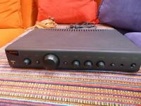 Arcam Alpha 8 amplifier - a classic hifi seperate available with quality speaker cables