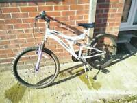 24inch muddy fox fallen angel bike