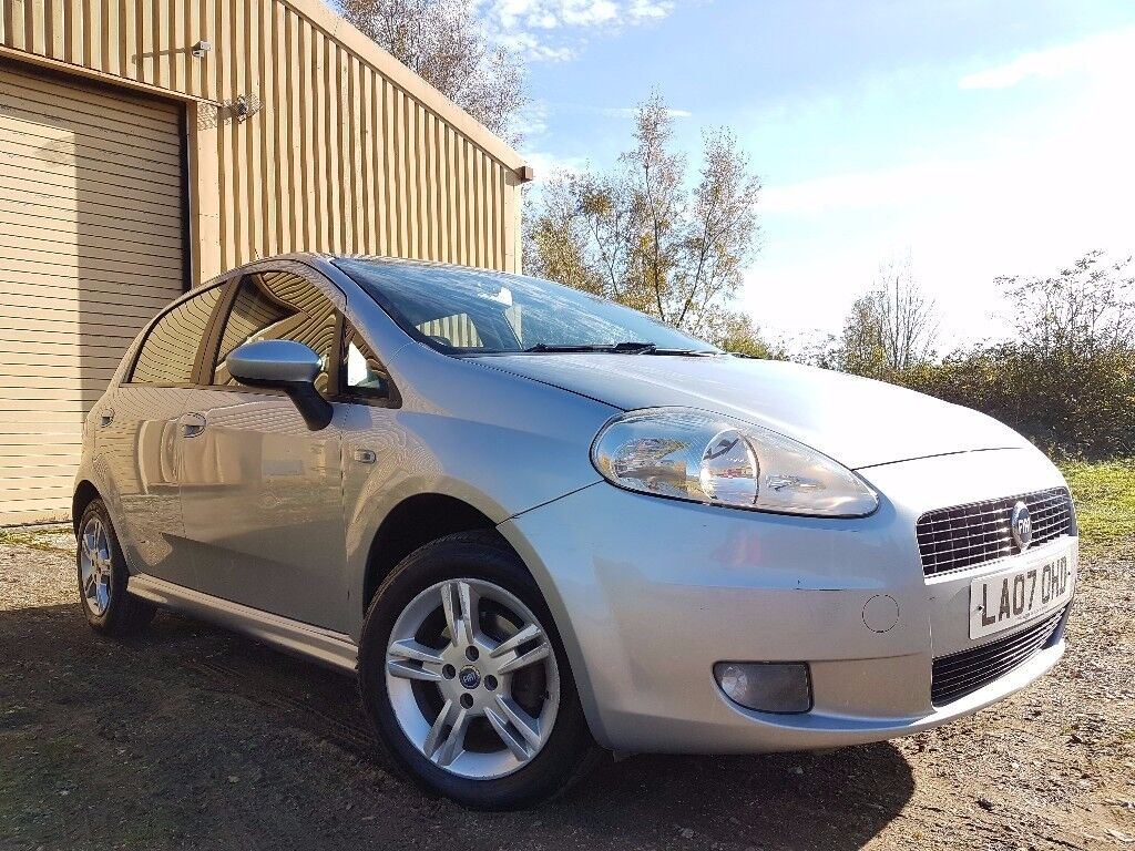 Fiat Grande Punto 1.4 Dynamic Sport 5dr *1 LADY OWNER*FSH*JUST SERVICED*2 KEYS*P/X WELCOME*