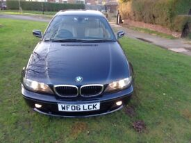 2006 BMW 3 Series 2.0 318Ci ES 2dr Coupe [2 OWNERS+NEW MOT+LEATHER+PARK AID+FSH+FREE WARRANTY]