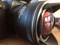 Sigma 10mm f2.8 DC Circular FishEye lens for Canon Cameras / not used very often