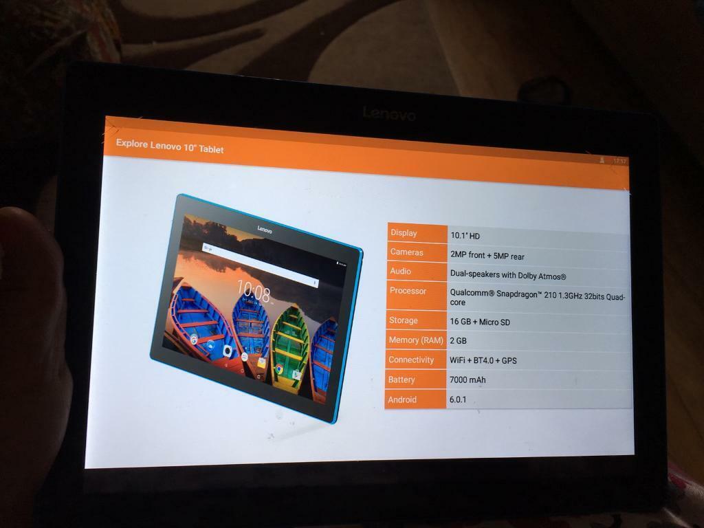 Lenovo crack screen read add   in Balsall Heath, West Midlands   Gumtree