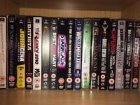 HUGE WWE DVD BUNDLE