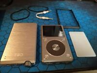 Fiio x5 2nd gen + E12A amp + L16 cable