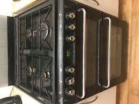 NEW WORLD Gas Cooker - Black - BARGAIN QUICK SALE!!!!!!!!!