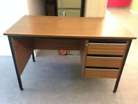 Desk with drawers - £10 - Available for collection