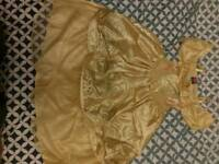 Disney Princess Belle Dress 5 to 6 years