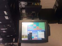 """Posligne POS1500 15"""" COMPLETE TOUCH EPOS TILL SYSTEM & ICRTOUCH, Printer"""
