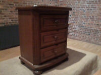 Solid Oak Chest of Drawers - *Free Local Delivery