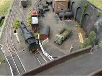 Wanted Model Railway items for a private collector.
