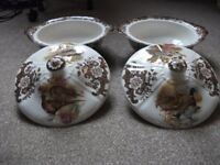 Vegtable Turrens by Royal Worcester for sale.