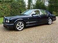 Bentley Arnage 6.8 T 4dr Mulliner level 2 (58 Plate)