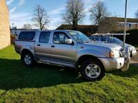 2002 Nissan nivarra double cab pick up truck