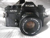 Ricoh KR10 35 mm camera