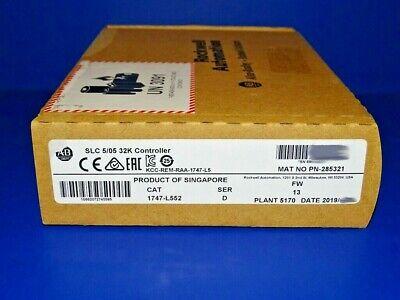 2019 Factory Sealed Allen Bradley 1747-l552 Series D Slc 505 Processor Slc 500
