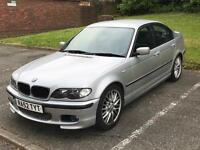 £2300 BMW 325i 2.5 192BHP M Sport Auto Silver 4 Door Saloon 2 keys