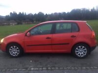 1.6 RED VOLKSWAGEN GOLF 2003