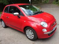 Immaculate, one careful owner, only 24500 miles since new this Fiat 500 is a genuine private sale