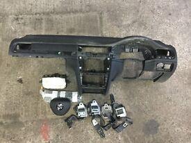 2014 skoda superb airbag kit