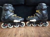 Seba FRX 80mm Inline Skates Size 9