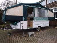 WANTED PENNINE OR CONWAY FOLDING CAMPER trailer tent trailor