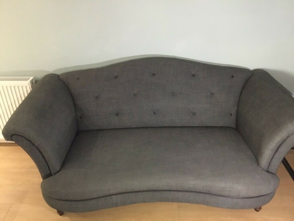 Surprising Dfs Moray 2 Seat Sofa Grey And Cuddler Sofa Grey Check In Edinburgh Gumtree Caraccident5 Cool Chair Designs And Ideas Caraccident5Info