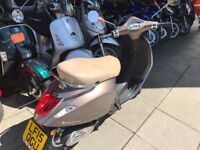 Immaculate Vespa Scooter - Like New - Very low mileage