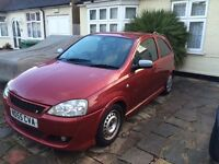 VAUXHALL CORSA 1.4 SXI 2005 CHEAP FOR QUICK SALE ONLY £695 HARROW AREA