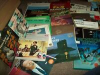 A COLLECTION OF 60+ CLASSICAL LPS IN EXCELLENT CONDITION PLUS 3 BOX SETS AND 2 10 INCH LPS