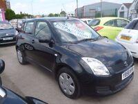 Suzuki SWIFT,5 door hatchback,FSH,nice clean tidy car,great to drive,sporty looking,low mileage 42k
