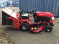 WESTWOOD T1800 PETROL LAWN TRACTOR 48 INCH DECK SWEEPER/COLLECTOR GRASS BOX