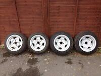 """ATS Classics 7135 8031 13"""" 7J 8J 4x100 Alloy Wheels MX5 VW Eunos Opel Monza KBA40068 KBA40078"""