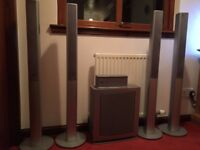 Panasonic Surround System with Multi Disk Changer