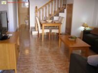 Costa Blanca, Spain. 2 bed townhouse with Wi-Fi, English TV. A/C (SM034)