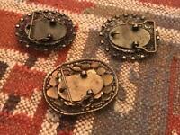 Vintage belt buckles