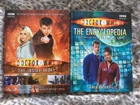 Doctor Who Hardback books
