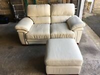 Sofa, 2 Seater in Leather