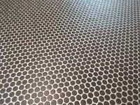 Bathroom Vinyl - Lanzarote - Mesh Anthracite 2.5m x 2.0m