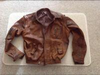 70s Orginal Men Leather Jacket